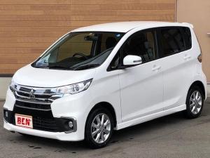 三菱 eKカスタム G 4WD シートヒーター HID キーフリー