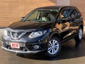 日産 エクストレイル 20X エマージェンシーブレーキパッケージ 切替式4WD 7人乗り ワンオーナー車 純正ナビTV Bluetooth アラウンドビューモニター ビルドインETC シートヒーター クルコン 防水シート i-stop 純正アルミ プッシュスタート
