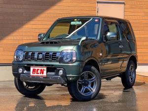 スズキ ジムニー ランドベンチャー 切替式4WD ターボ車 ストラーダSDナビ フルセグTV Bluetooth ETC ステアリングリモコン キーレス 電動格納ウィンカーミラー 純正16インチアルミ フォグライト ドアバイザー