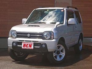 スズキ ジムニー XC 5速マニュアル 切替式4WD 社外CDデッキ bluetooth ルーフレール ハイマウントストップランプ付リアスポイラー キーレス 純正フロアマット フォグランプ 走行2万キロ台 車検R5.07迄