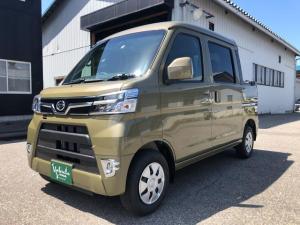 ダイハツ ハイゼットカーゴ  デッキバン SAIII 4WD AT オフビートカーキ 登録済未使用車