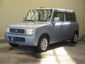 スズキ アルトラパン X 4WD シート・ミラーヒーター ETC 純正13インチアルミホイール 純正CD・MD キーレス