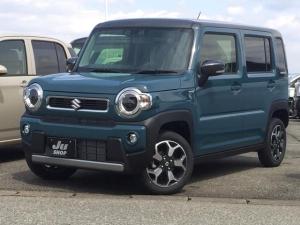 スズキ ハスラー ハイブリッドX 4WD LEDヘッド・フォグ 届出済未使用車