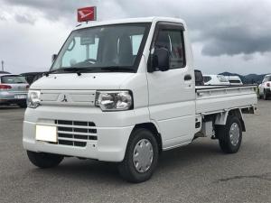 三菱 ミニキャブトラック Vタイプ 4WD 三方開 エアコン パワステ 5速マニュアル