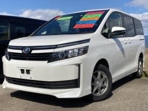 トヨタ ヴォクシー X 4WD 両側パワースライドドア トヨタセーフティセンス 8人乗り 社外ナビ バックモニター LEDヘッドライト オートライト 車検整備付き