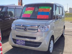 ホンダ N-BOX 2トーンカラースタイル G・Lパッケージ 4WD 純正ナビ バックモニター ドライブレコーダー 左側パワースライドドア HIDライト シートヒーター ETC