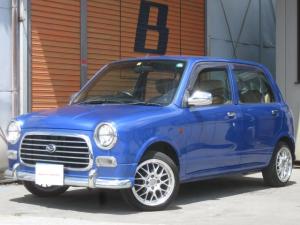 ダイハツ ミラジーノ ジーノ 4WD 14インチアルミ コンビステアリング ワンオーナー