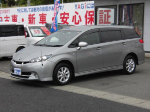 トヨタ ウィッシュ 1.8S 純正ナビ TV ETC ワンオーナー 4WD