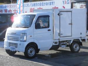 スズキ キャリイトラック 保冷車 エアコン パワステ ラジオ 4WD