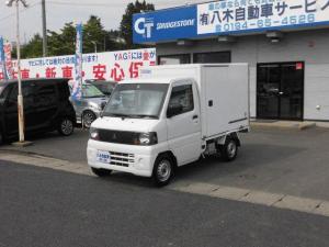 三菱 ミニキャブトラック 冷蔵冷凍車 4WD