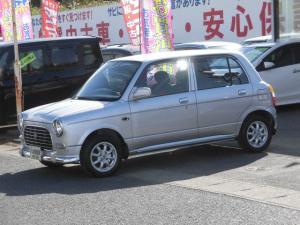 ダイハツ ミラジーノ ジーノ ウッドコンビハンドル 社外アルミ CD 4WD