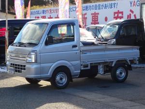 スズキ キャリイトラック KCエアコン・パワステ ラジオ シルバー 4WD