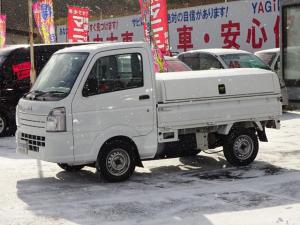 マツダ スクラムトラック KCエアコン・パワステ トラボ保冷ボックス付き 切替式4WD