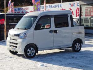 ダイハツ ハイゼットカーゴ デッキバンG 社外ナビ TV ETC 4WD
