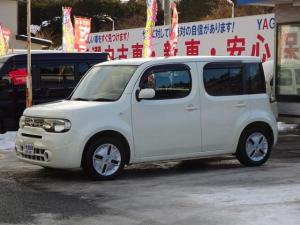 日産 キューブ 15X FOUR Mセレクション ナビ TV バックカメラ ETC 4WD