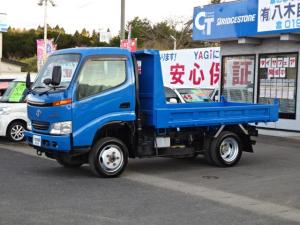 トヨタ トヨエース  ダンプ エアコン パワステ 4WD