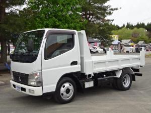 三菱ふそう キャンター 全低床ダンプDX 2トン 4WD