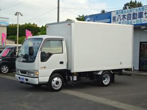 いすゞ エルフトラック ベースグレード 保冷バン ワンオーナー クラッチフリー(切替) 4WD