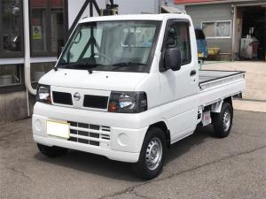 日産 NT100クリッパートラック SD 4WD 5MT ナビ 後付け社外スピーカー キーレス