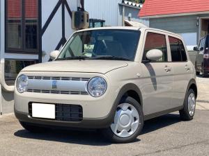 スズキ アルトラパン L 4WD スズキセーフティサポート シートヒーター プッシュスタート 届出済未使用車