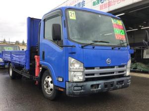日産 アトラストラック 2.9t4段クレーン外装仕上済 DT ワイド超ロング高床DX