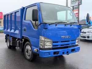 いすゞ エルフトラック 4WD 2t強化深ダンプ 外装仕上済 ICターボFFローST
