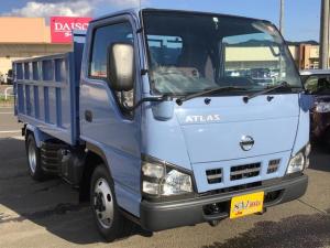 日産 アトラストラック  4WD フルスーパーロー2t強化深ダンプ 外装仕上済