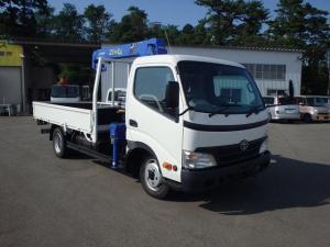 トヨタ ダイナトラック 2tワイドロング タダノ3段クレーン 4WD