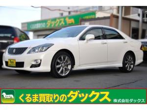 トヨタ クラウン アスリートナビP HDD地デジBカメラF電動シート新品タイヤ