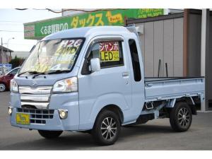 ダイハツ ハイゼットトラック ジャンボ4WD エアコンパワステ 5速 メッキG 1オーナー