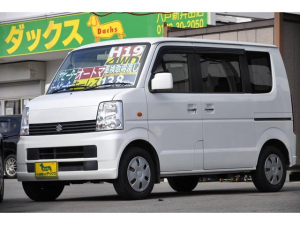 スズキ エブリイワゴン JP 4WD 新品タイヤ 新品クラッツィオ革調シートカバー
