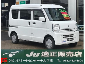 スズキ エブリイ ジョイン 4WD 5速マニュアル ETC ALPINEナビ
