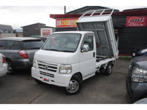 ホンダ アクティトラック ダンプ 4WD 新明和ダンプ装置 エンジン交換済 エアコン