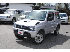スズキ ジムニー XG 4WD ターボ 関東オーナー車 サビ無 3年間走行無制限保証