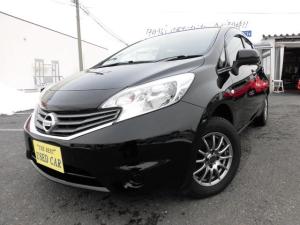 日産 ノート X FOUR 4WD ナビ・TV スマートキー 新品タイヤ