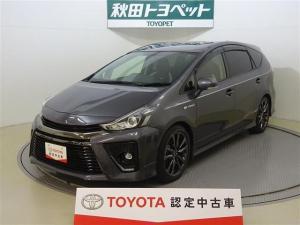 トヨタ プリウスアルファ Sツーリングセレクション・G's バックモニター ナビ