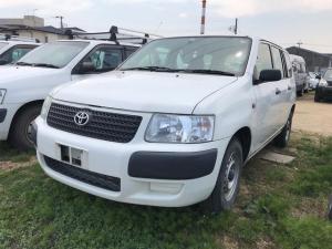 トヨタ サクシードバン 4WD ナビ AC オーディオ付 ホワイト AT エアコン
