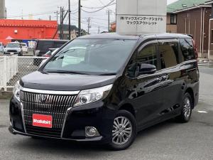 トヨタ エスクァイア Xi セーフティセンス 社外SDナビTV バックカメラ フリップダウンモニター パワースライドドア LEDヘッドライト リアスポイラー キーレス