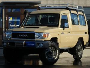 トヨタ ランドクルーザー70 新車LXトゥループキャリアDPF装置付NOX適合前後デフL