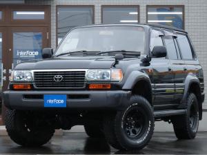 トヨタ ランドクルーザー80 全国限定生産500台Lパッケージディーゼルターボ VX-LTD3インチUPミッキートンプソン16インチAW