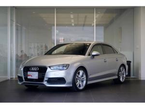 アウディ A3セダン 1.4TFSIシリンダーオンデマンド 禁煙 ワンオーナー ナビ TV ETC バックカメラ LEDヘッドライト Sラインパッケージ Audi認定中古車