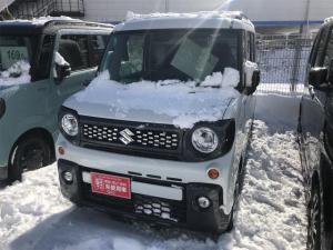 スズキ スペーシアギア ハイブリッドXZ 4WD DSBS付 シートヒーター付 アイドリングS エアコン 盗難防止システム