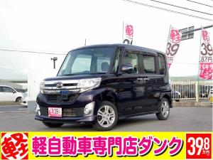 ダイハツ タント カスタムX SA 2年保証 4WD  CVT スマアシ