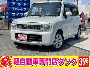 スズキ アルトラパン G 2年保証 4WD CVT エンジンスタータ シートヒーター