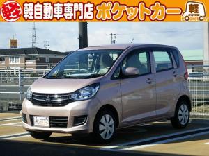 三菱 eKワゴン E シートヒーター/電動格納ミラー/UVカットガラス/CD/保証付