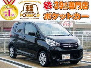 三菱 eKワゴン E キーレス/シートヒーター/電動格納ミラー/保証付