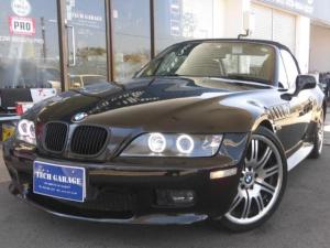 BMW Z3ロードスター 2.2i イカリング ETC ナビ オープン 19インチアルミ ハーフレザーシート 電動シート