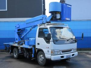 いすゞ エルフトラック 軌陸両用 高所作業車 AICHI製 作業床高さ12.5M