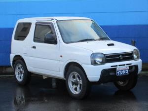 スズキ ジムニー XG 4WD ターボ 運転席RECAROバケットシート 社外16インチアルミホイール 社外HDDナビ CD録音再生&DVD再生 ボタン切り替え式パートタイム4WD