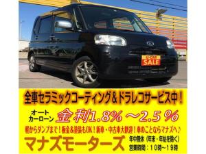 ダイハツ タント L ABS 4WD 寒冷地仕様 キーレス アイドリングストップ HDDナビ フルセグTV DVD再生可 ベンチシート 電動格納ミラー スライドドア 14インチAW